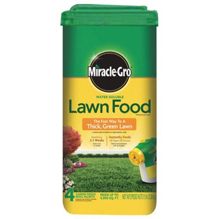 Scotts Miracle-Gro 36-0-6 Lawn Food For All Grass Types 5 lb. 7200 sq. ft. - Case Of: 1; Each Pack Qty: 4; Total Items Qty: