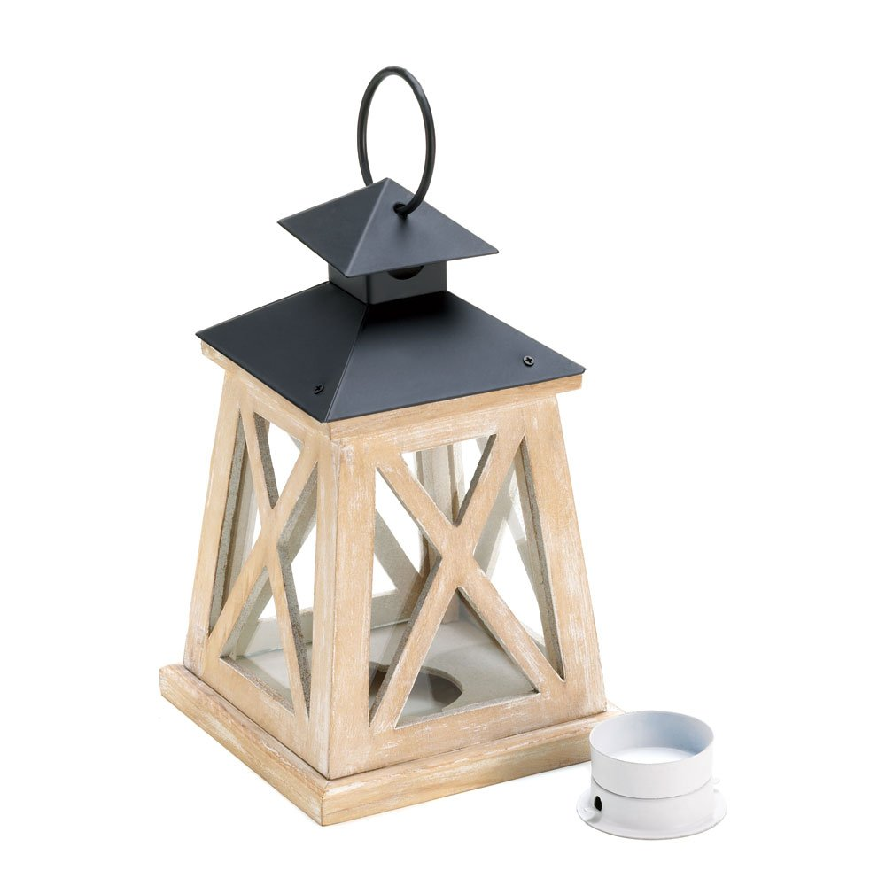 Candle Lantern Outdoor, Small Hanging Lantern Candle Holders For Patio Decor