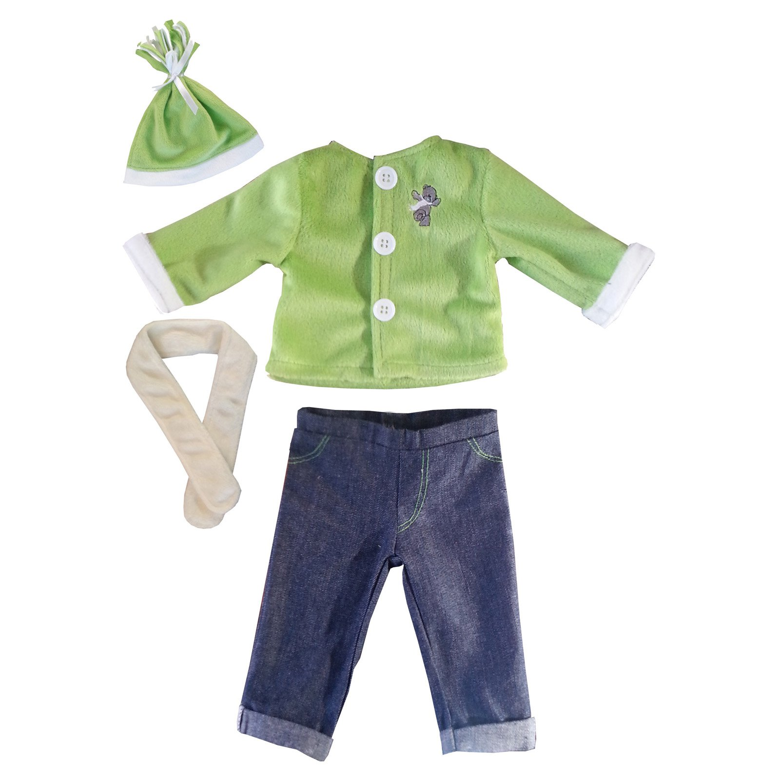 Molly P. Margot 18 in. Doll Outfit