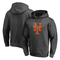 New York Mets Fanatics Branded Cooperstown Collection Huntington Pullover Hoodie - Heathered Gray