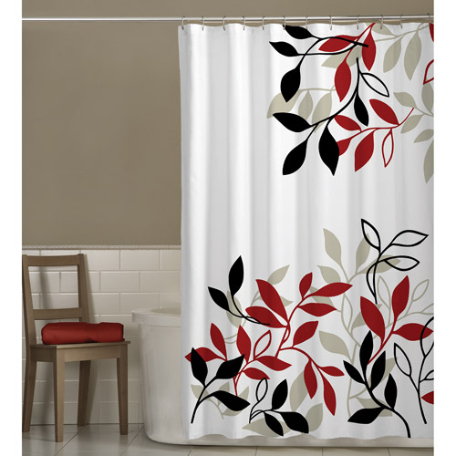 Maytex Satori Fabric Shower Curtain by Maytex Mills