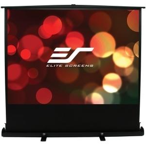 Elite Screens 100IN DIAG PORTABLE FLOOR PULL UP 4:3 60X80...
