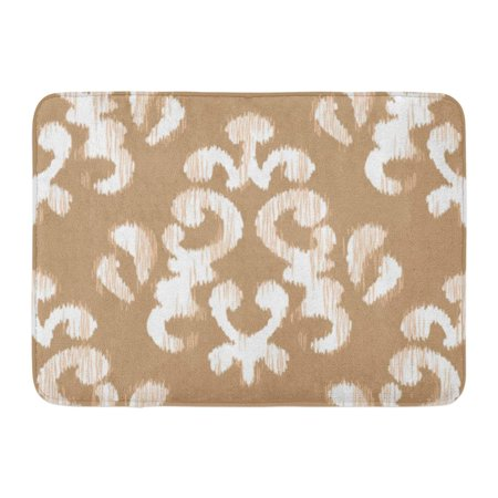 GODPOK All Abstract Ikat Damask Pattern Accessory Bunting Rug Doormat Bath Mat 23.6x15.7 (Bunting Mat)
