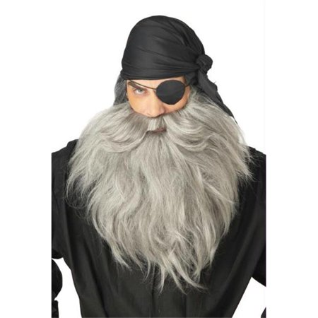 Morris Costumes CC70488 Pirate Beard Moustache - Pirate Beard