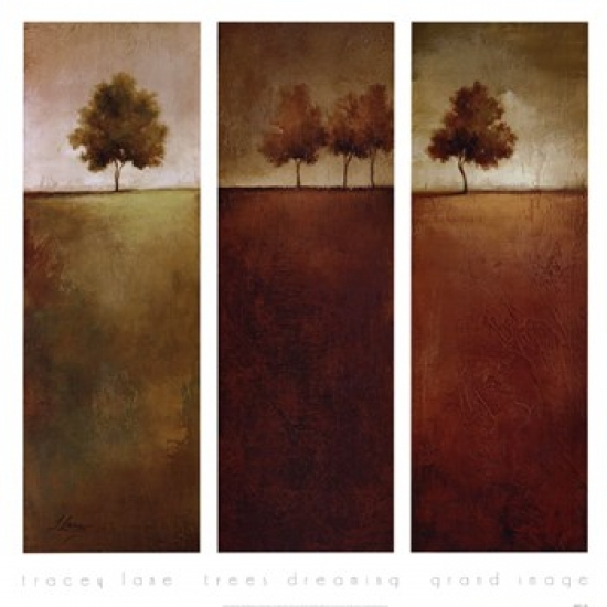 Trees Dreaming Poster Print by Tracey Lane (28 x 28)
