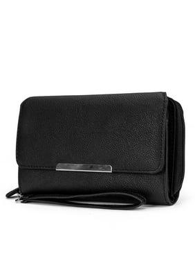 2cbd2e92ca Product Image MUNDI Big Fat Womens RFID Blocking Wallet Clutch Organizer  Removable Wristlet
