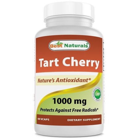 Best Naturals Tart Cherry Extract 1000 mg 60 Vcaps