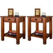Summit Mountain End Tables by Altra - Value Bundle