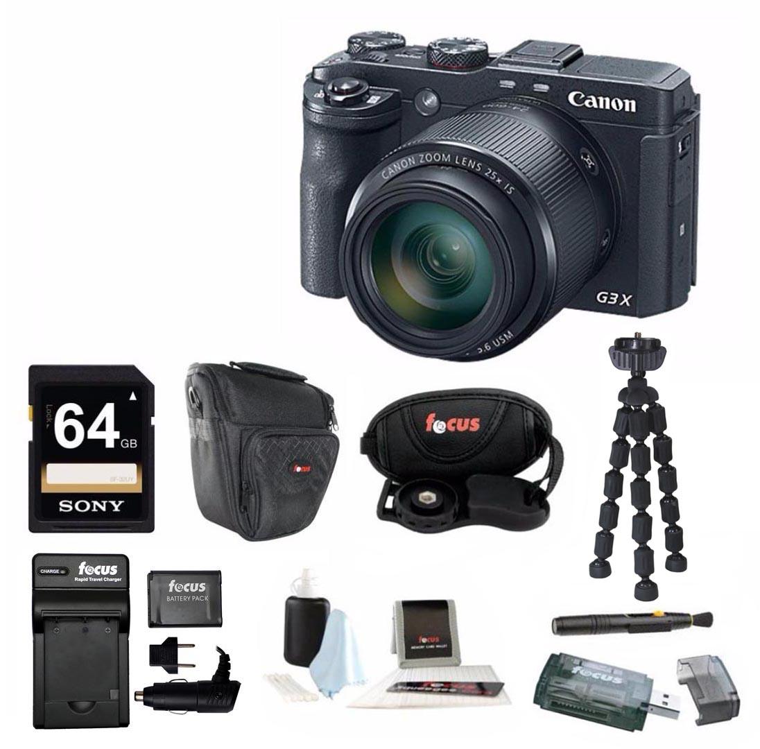 Canon PowerShot G3 X 20.2 Megapixel Digital Camera with 6...