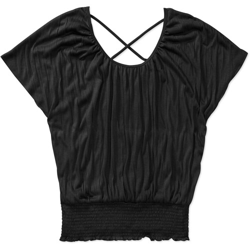 Women's Dolman Flutter Sleeve Top