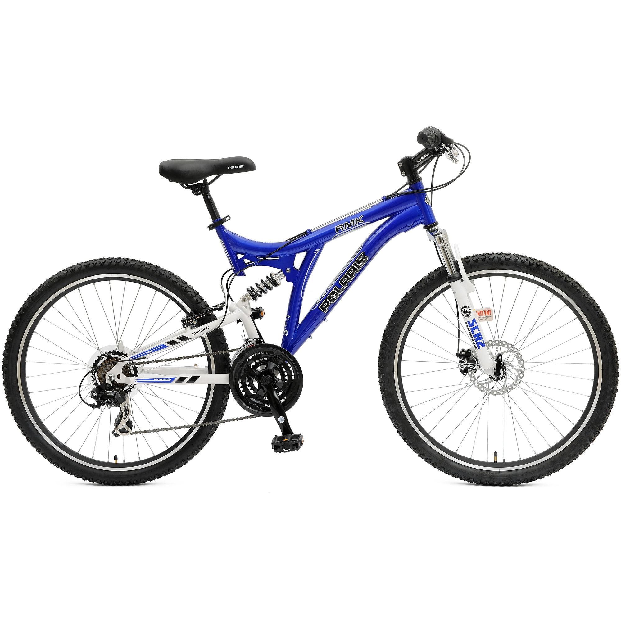 Dual Suspension Mountain Bikes Walmart >> Polaris Rmk Full Suspension Bicycle Walmart Com