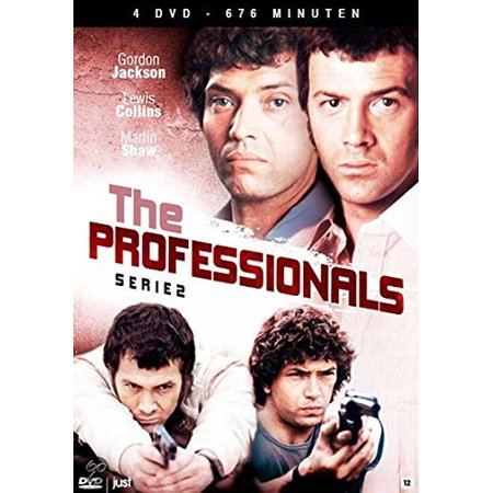 The Professionals (Series 2) - 4-DVD Box Set ( The Professionals - Series Two ) [ NON-USA FORMAT, PAL, Reg.0 Import - Netherlands ]