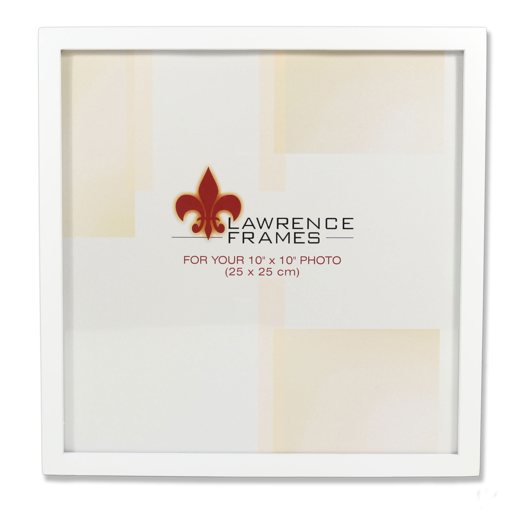 755810 White Wood 10x10 Picture Frame - Walmart.com
