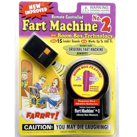 Forum Novelties T.J. Wisemen Funny Remote Control Fart Machine Funny Sounds Joke Prank - Jokes And Gags Toys