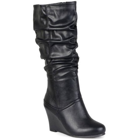 Women's Slouchy Wedge Boots ()