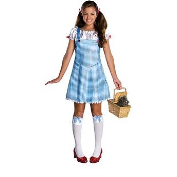 Rubie's Wizard Of Oz Dorothy Costume, Blue/White, Medium (Cat Wizard Of Oz)