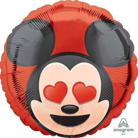 Mickey Mouse Emoji Foil Balloon 18