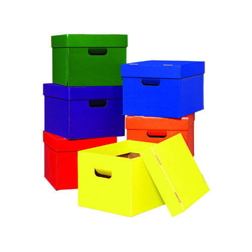 Edupress Tote/stow Boxes One Each Of Green