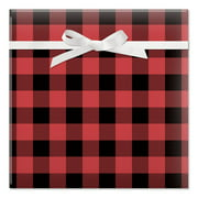 Buffalo Plaid Christmas Rolled Gift Wrap - 67 sq. ft.