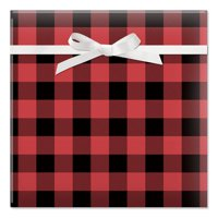 Buffalo Plaid Christmas Rolled Gift Wrap - 67 sq. ft.