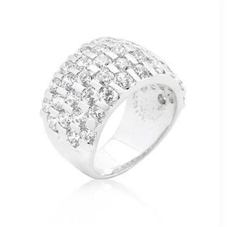 Channel Set Princess Cut Ring, Size : 06 - image 1 de 1