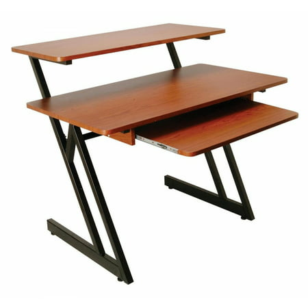- On-Stage WS7500RB WS7500 Series Wood Workstation (Rosewood/Black Steel)