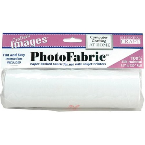 Crafter's Images PhotoFabric Silk Habotai