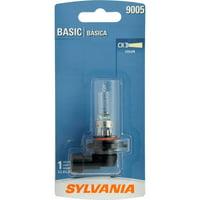 Sylvania 9005 Basic Auto Halogen Headlight, Pack of 1.