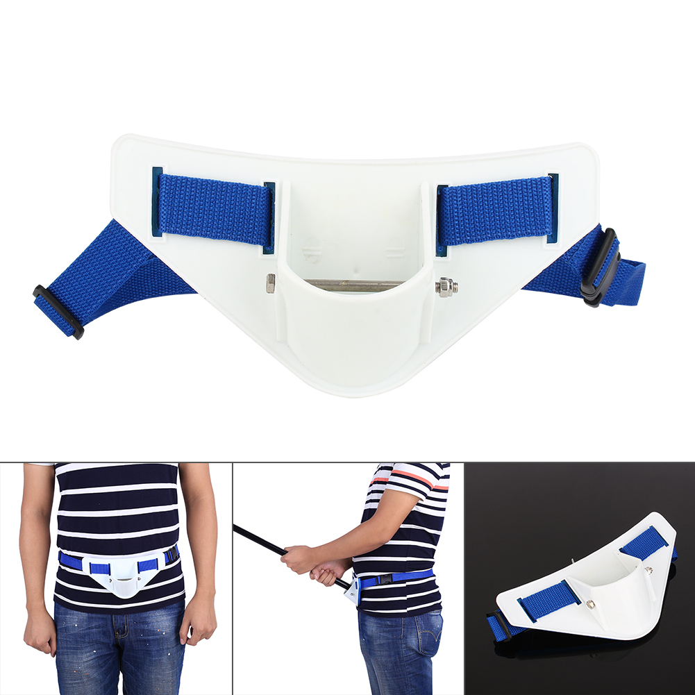 360�Adjustable Padded Fishing Fighting Belt Offshore Tackle Boat Fishing Rod Holder by ZJchao01