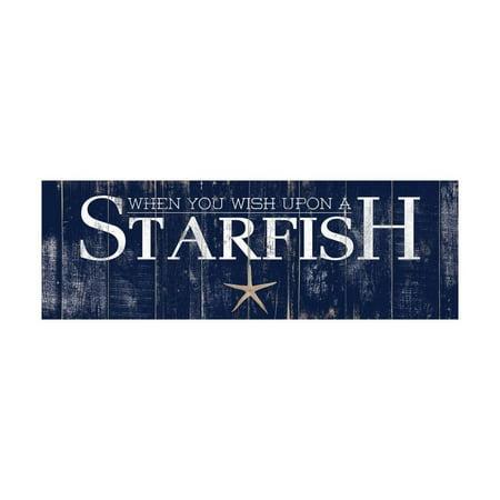 - Starfish Print Wall Art By Elizabeth Medley