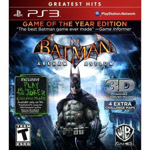 Batman Arkham Asylum Goty (PS3) - Pre-Owned