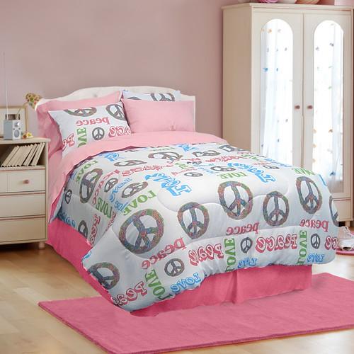 Veratex, Inc. Peace and Love 4 Piece Comforter Set