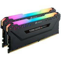 VENGEANCE® RGB PRO 32GB (2 x 16GB) DDR4 DRAM 3200MHz C16 Memory Kit — Black