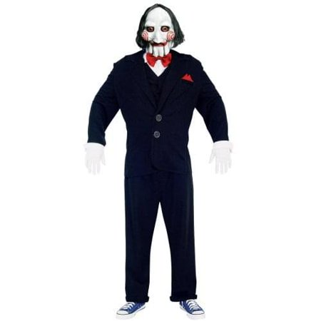 Saw Puppet Costume Adult - Puppet From Saw