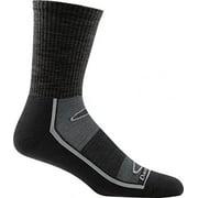 Darn Tough Vermont Solid Light Cushion Gym Sock - Men's Black X-Large