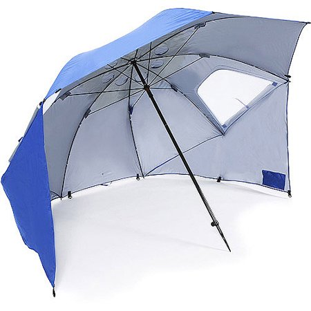 Portable Beach Canopy Pop Up Sun Shelter Instant Half Tent With Carry Bag