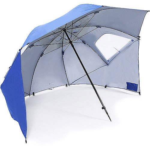 Sport Brella All Weather 8 Foot Umbrella Canopy Shelter Red