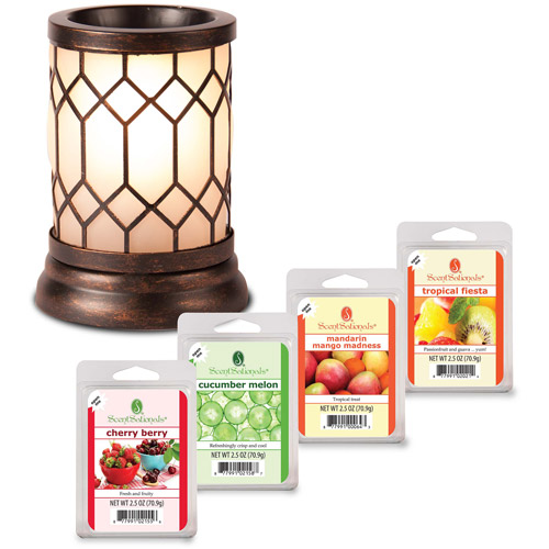 ScentSationals Wax Warmer Starter Set, Bronze Lantern