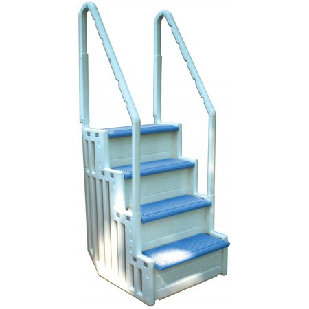 confer step 1 above ground in pool swimming pool steps entry system various colors