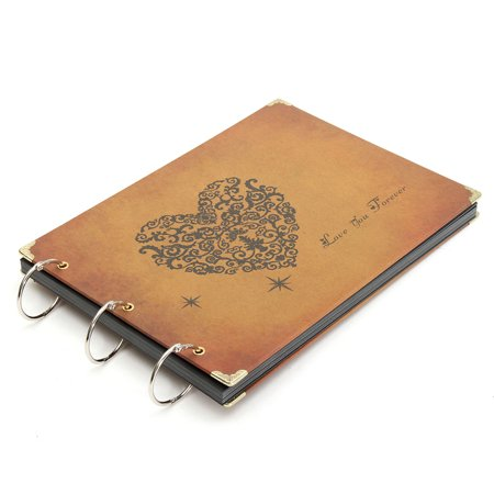 10inch Photo Album Diy Retro Photo Book Leather Scrapbook Handmade