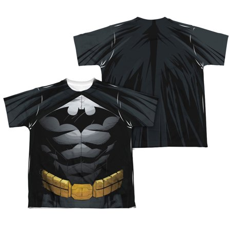 Batman Uniform (Batman Men's  Uniform  Sublimation T-shirt)