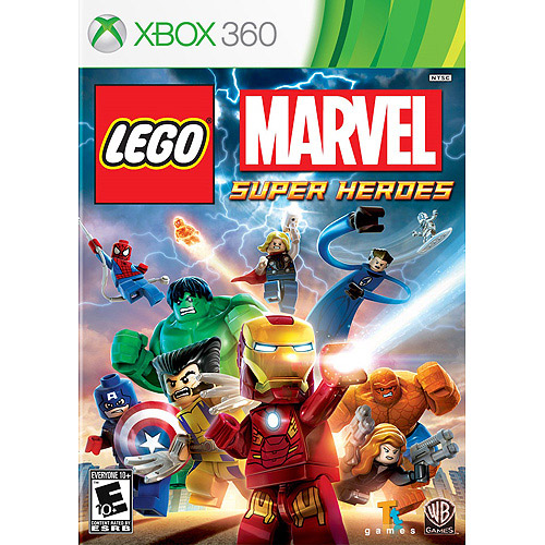 Lego Marvel Super Heroes (Includes Iron Patriot Minifigure) - Xbox 360