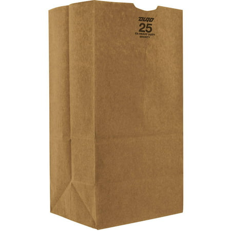 - Duro Bag Fold Over Kraft Paper Bags , 25 lbs. Extra Heavy-Duty, Natural, 500 Ct