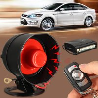 Universal 1-Way Car Vehicle Burglar Alarm Security System 2 Remote Keyless Entry