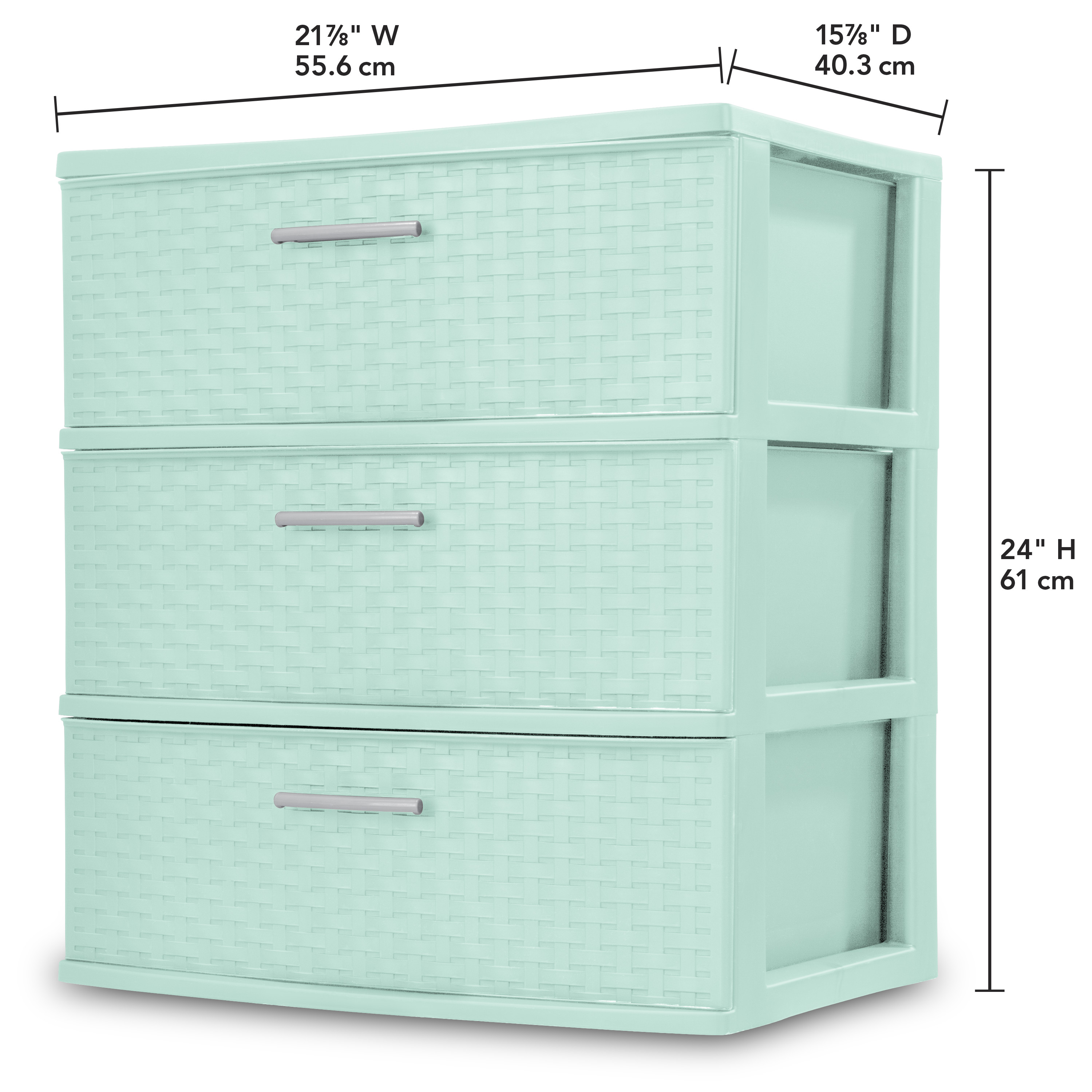 LEGO Storage Brick Mint//Aqua Green 1 Drawer Brand NEW *Damaged Retail Package*