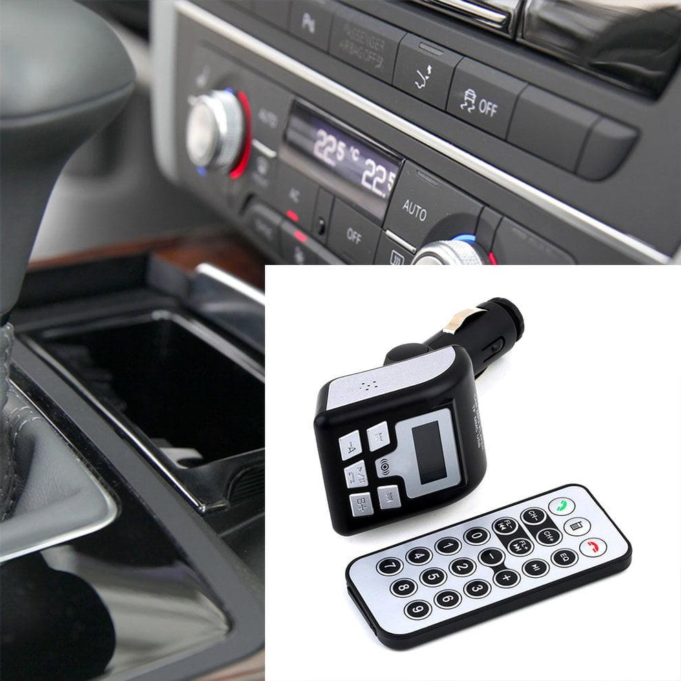 Handsfree Car Kit MP3 Player Bluetooth FM Transmitter Modulator