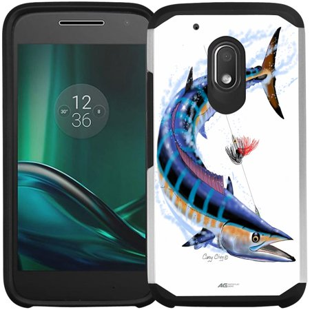 Moto G4 Play Case, Moto G Play Case - Armatus Gear (TM) Slim Hybrid Armor Case Protective Phone Cover for Motorola Moto G4 Play XT1607 / XT1609 (DOES NOT FIT MOTO 4G PLUS) Natural Gear Hybrid