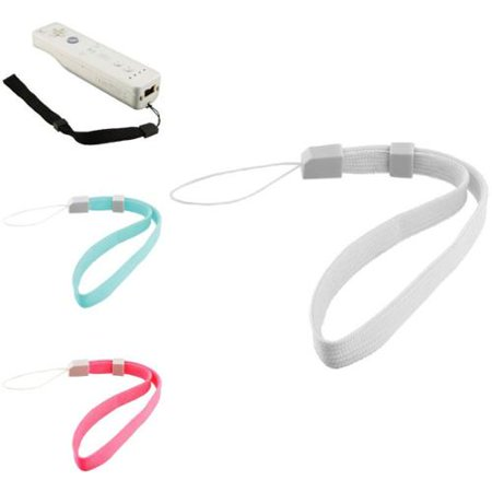 Nintendo Wii Control - Insten Wii controller wrist straps X 4 For WIIMOTE CONTROL