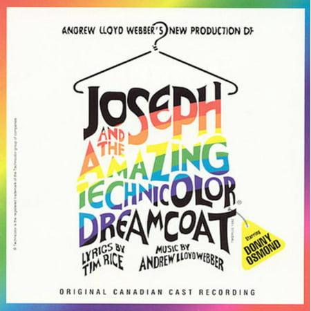 JOSEPH AND THE AMAZING TECHNICOLOR DREAMCOAT [ORIGINAL CANADIAN CAST] [ORIGINAL 1993 LOS ANGELES CAST/ORIGINAL CANADIAN CAST/ORIGINAL CAST RECORDING/ORIGINAL LONDON CAST/DONNY (Joseph And The Amazing Technicolor Dreamcoat Logo)