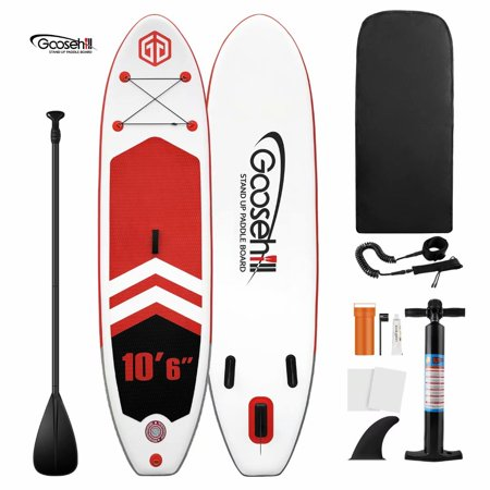 Goosehill Latest SCE Technology Inflatable Stand Up Paddle Board Rainbow R Energy In